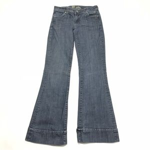 Kut From The Kloth Cuffed Flare Leg Jeans Size 2
